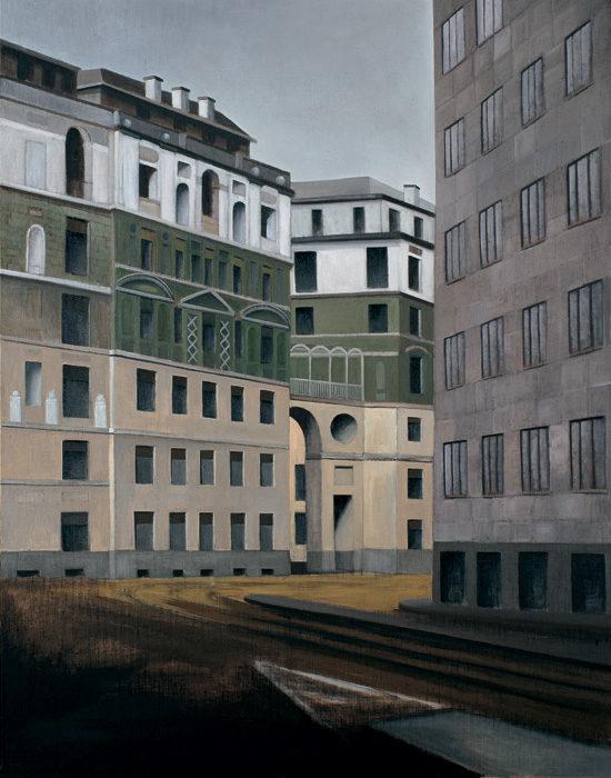 Ca' Brutta, 1998, olio su tela 180 x 140 cm