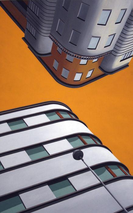 Monza, 2011, olio su tela, 160x100 cm