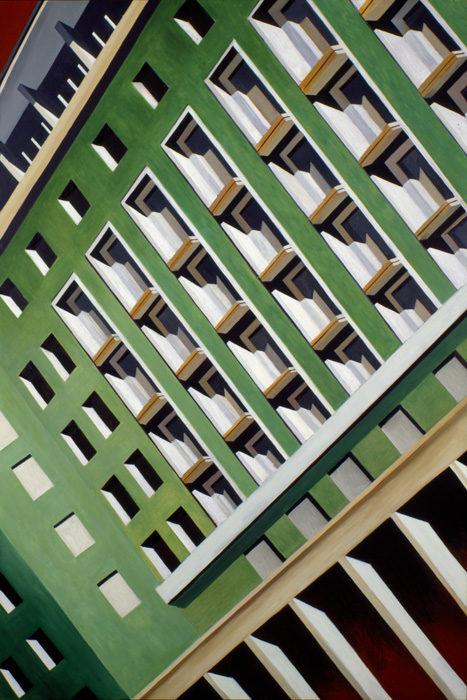 Soqquadro, 2000, olio su tela, 180x120 cm