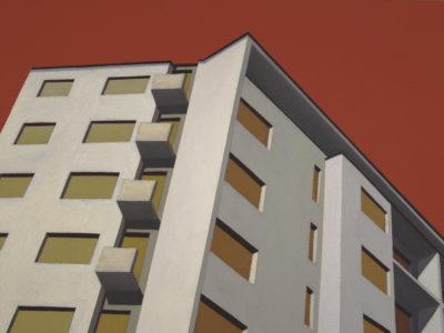 Casa Ghiringhelli, 2007, olio su tela, 60x80 cm