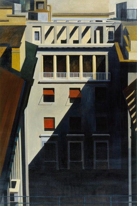 Interno, 1997, olio su tela, 150x100 cm