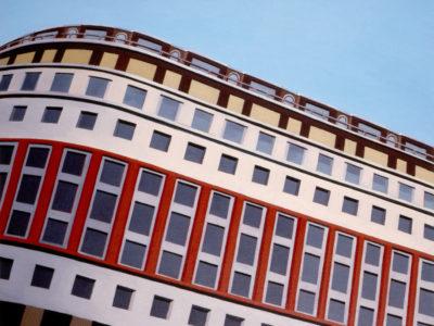 Palazzo Del Toro, 2004, olio su tela, 60x80 cm