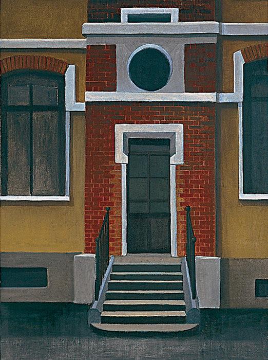 Scuola, 1997, olio su tela, 80x60 cm